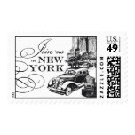 New York Vintage Car | Atelier Isabey Stamps