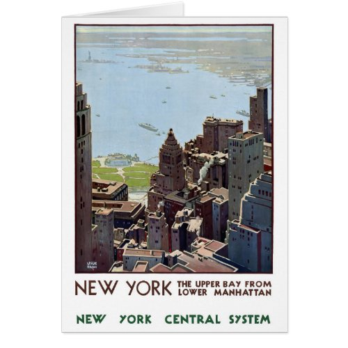 New York Vintage Poster Restored