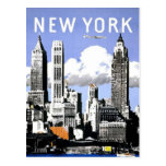 New York  Vintage Travel Post Cards