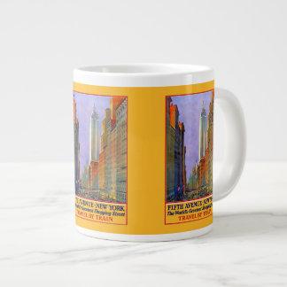 New York Vintage Travel Poster mugs