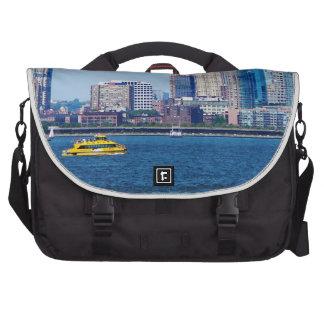 New York Water Taxi Laptop Messenger Bag