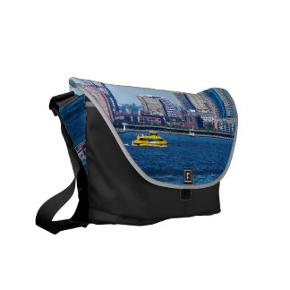 New York Water Taxi Messenger Bags