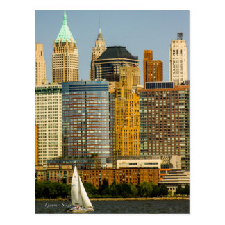New York Waterfront Postcard
