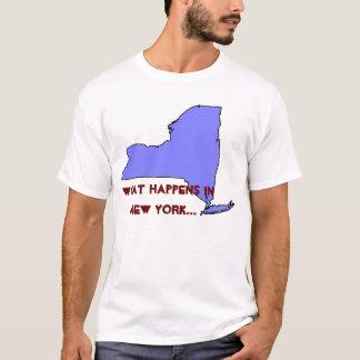 New York What Happens T-Shirt