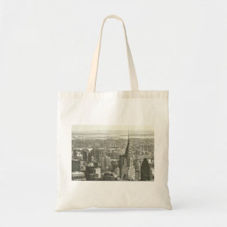 New York Winter Budget Tote Bag