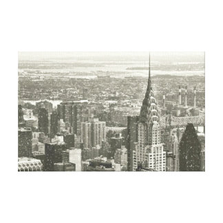 New York Winter Canvas Print