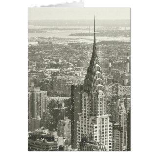 New York Winter Card