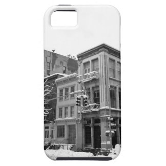 New York Winter - City in the Snow iPhone 5 Covers