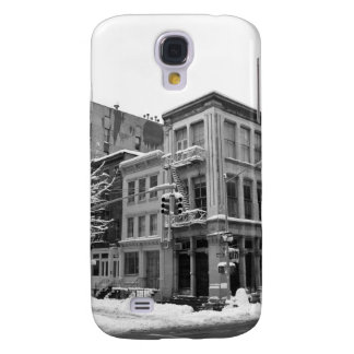 New York Winter - City in the Snow Galaxy S4 Cover