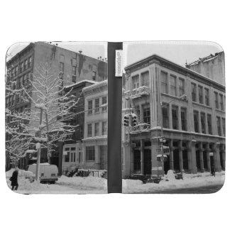 New York Winter - City in the Snow Kindle Cover