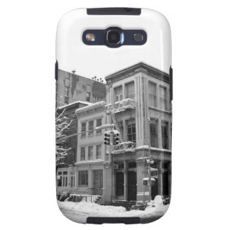 New York Winter - City in the Snow Galaxy SIII Cover