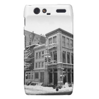 New York Winter - City in the Snow Droid RAZR Covers