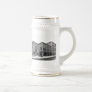 New York Winter - City in the Snow 18 Oz Beer Stein