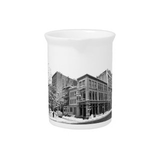 New York Winter - City in the Snow Pitchers