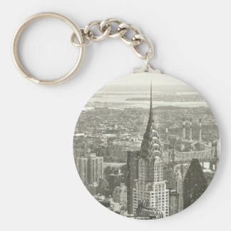 New York Winter Keychain