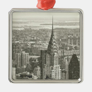 New York Winter Christmas Tree Ornaments