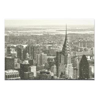 New York Winter Photo Print