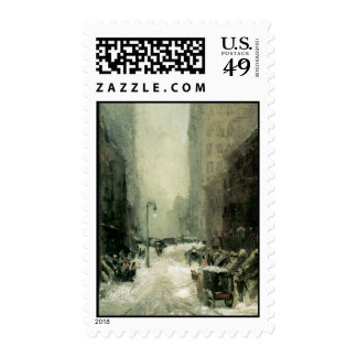 New York Winter Stamps