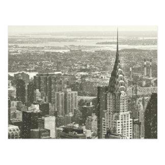 New York Winter Postcard