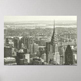 New York Winter Posters
