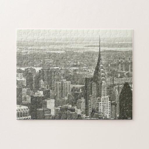 New York Winter Puzzles