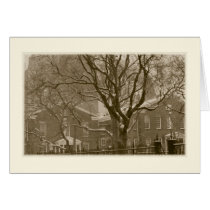 'New York Winter Scene' Holiday Card - Old-fashion
