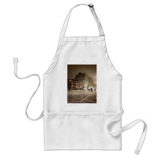 New York Winter - Snow in the City Adult Apron