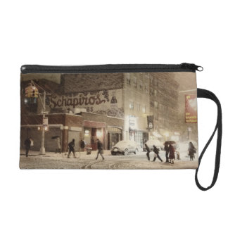 New York Winter - Snow in the City Wristlets