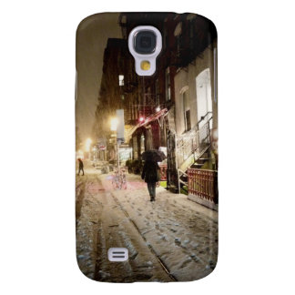 New York Winter - Snow on the Lower East Side Samsung Galaxy S4 Case