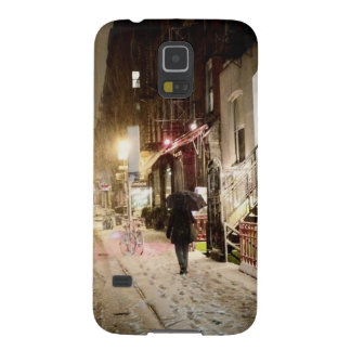 New York Winter - Snow on the Lower East Side Galaxy S5 Cover