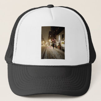 New York Winter - Snow on the Lower East Side Trucker Hat