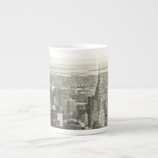 New York Winter Tea Cup