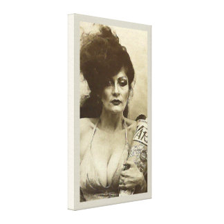 New York Woman Canvas Print
