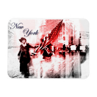 New York - Women's Suffrage March Magnet