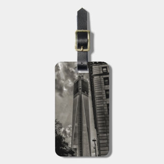 New York World Trade Center Freedom Tower Luggage Tag