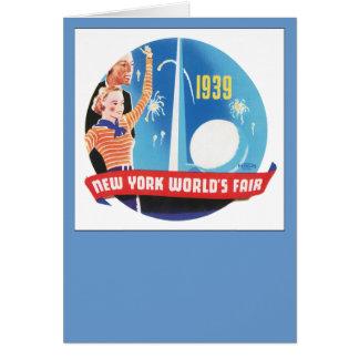 New York World's Fair 1939 Card