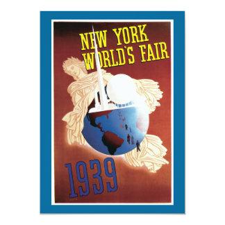 New York World's Fair, 1939 Card