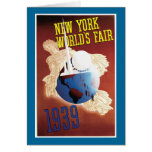 New York World's Fair, 1939 Card