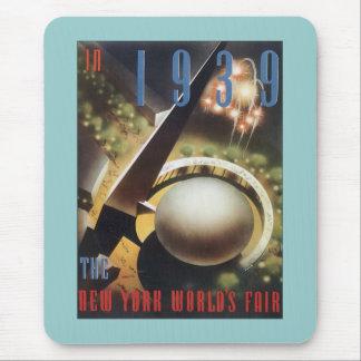 New York World's Fair 1939 Mouse Pads