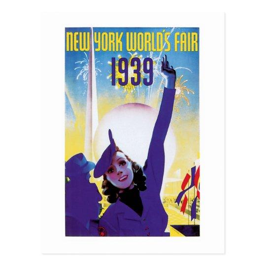 New York World's Fair, 1939 Postcard