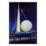 New York World's Fair 1939 Poster