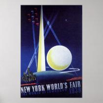 New York World's Fair 1939 Poster