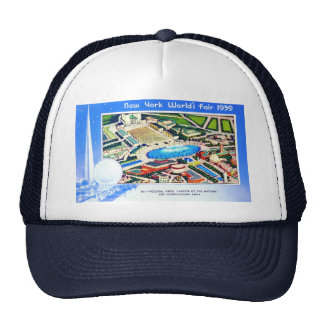New York World's Fair 1939 Trucker Hat