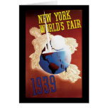 New York World's Fair Card