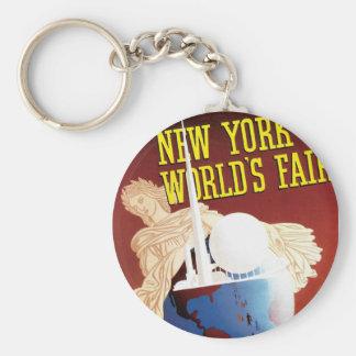 New York World's Fair (Globe) Keychain