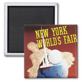 New York World's Fair (Globe) Magnet