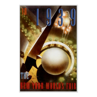 New York Worlds fair Posters