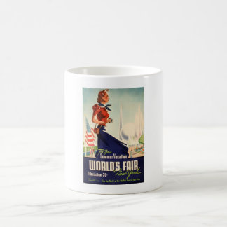 New York World's Fair Poster Coffee Mug