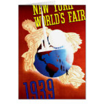 New York World's Fair Vintage Travel Ad Card