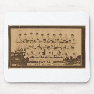 New York Yankees 1913 Tapete De Ratón
